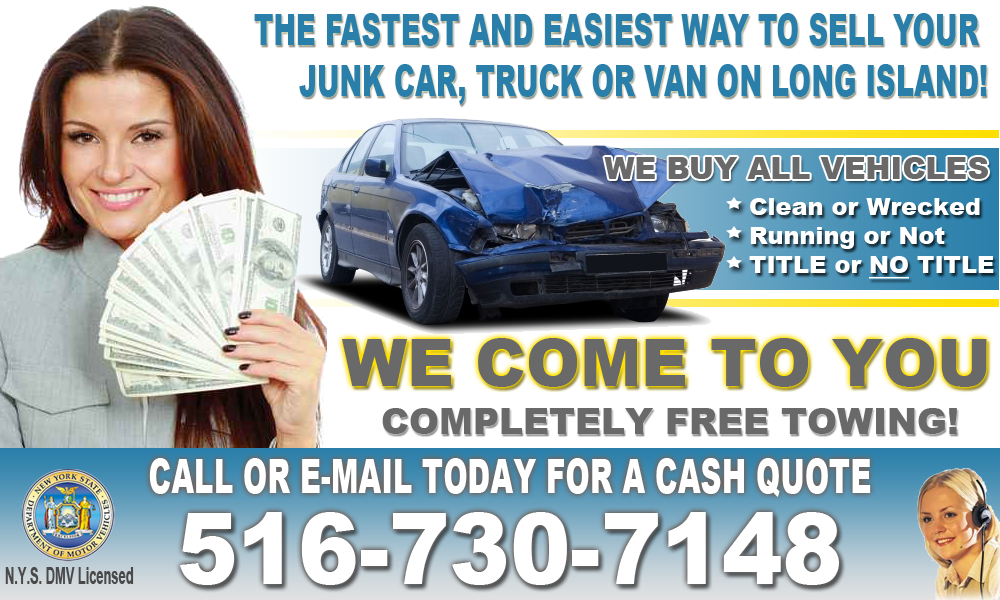 Nassau County Junk Car Removal | Cash For Junk Cars | Cars For Junk ...